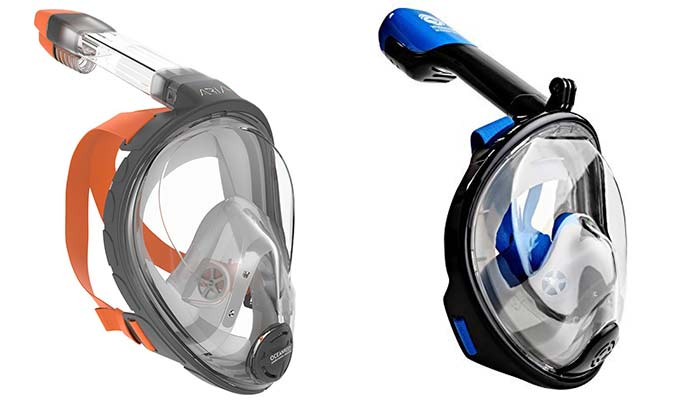 4f012d785 Reviewing the best full-face snorkel masks + buy guide